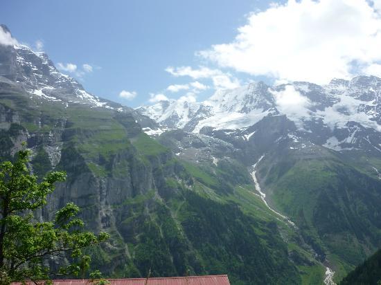 The Alpenhof: View of the surroundings Alps