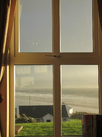 Inch Beach Guesthouse: view out our window