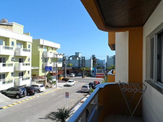 Pousada Acapulco: Vista sentido praia