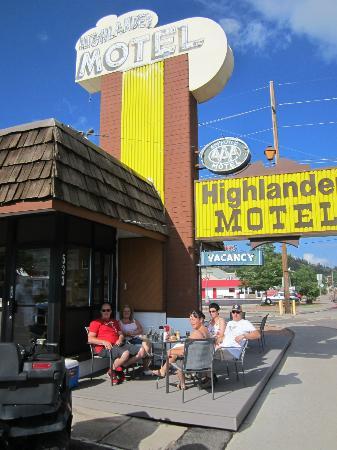Highlander Motel: juli 2012