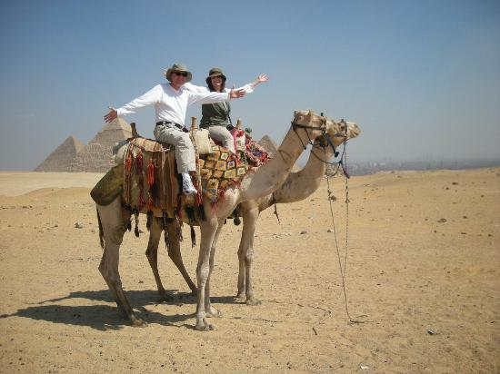 Ramasside Tours - Private Day Tours : Camel ride arranged by our guide