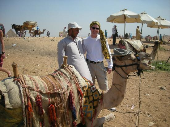 Ramasside Tours: Camel ride arranged by our guide