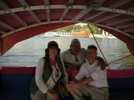 Ramasside Tours: Nile boat ride arranged by our guide