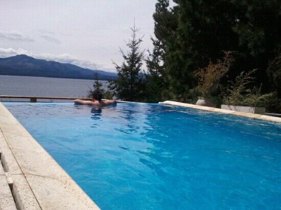 Patagonia Vista: disfrutando la piscina!