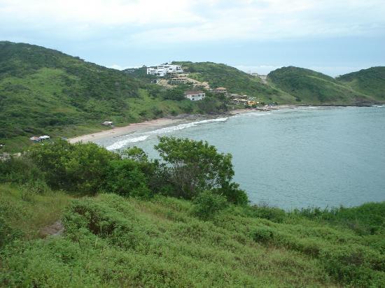 Olho de Boi Beach : Vista de Playa Brava desde el morro para ir a Olho de Boi