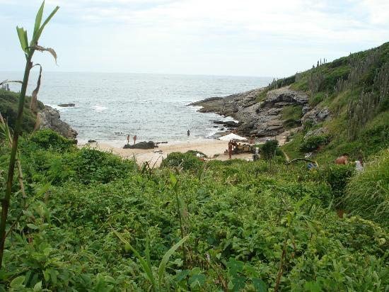 Olho de Boi Beach: Olho de Boi desde el morro