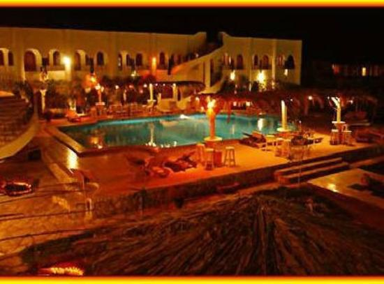 Yasmina Hotel: At night