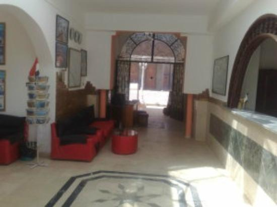 Yasmina Hotel: Reception area