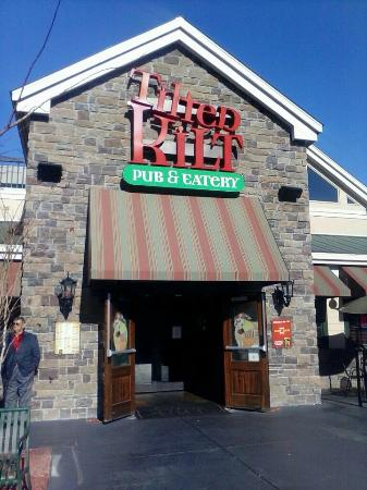 Tilted Kilt Pub Eatery Front Of The Broadway At Beach
