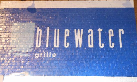 Blue Water Grille : Sign