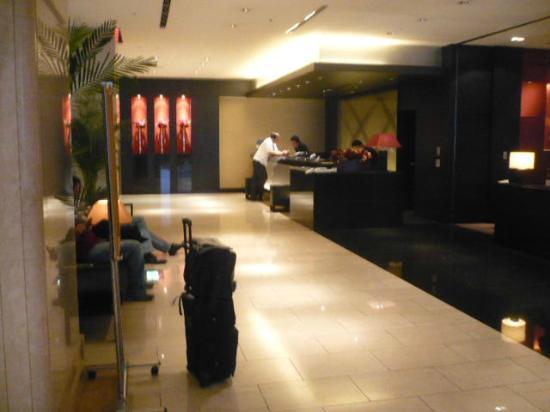 โรงแรมคอร์ตยาร์ดบายมาริออทโตเกียวกินซ่า: Reception
