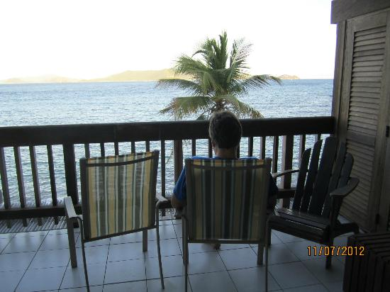 Sapphire Beach Resort: View from out deck