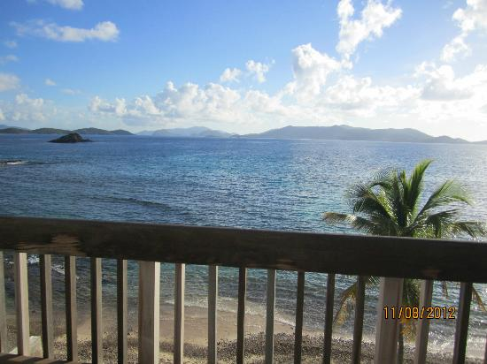 Sapphire Beach Resort: View from our Deck