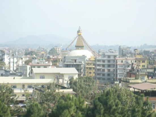 Hyatt Regency Kathmandu: Stupa view from the Hyatt
