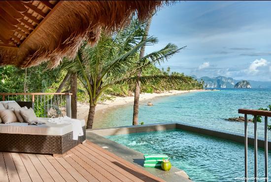 El Nido Resorts Pangulasian Island: Pangulasian's Pool Villa