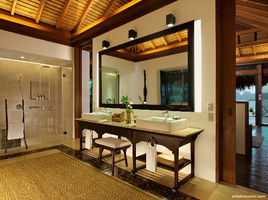 El Nido Resorts Pangulasian Island: Bathroom of Pangulasian's Villa