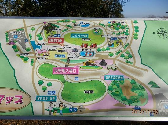 Yoro-cho, Japan: 案内図
