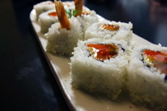 Hanabi Japanese Sushi Restaurant: Tempura Lovers Roll