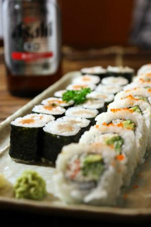 Hanabi Japanese Sushi Restaurant: Triple Combo - Serve with Soup