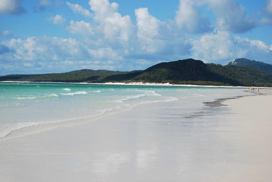 Whitehaven Beach: Arenas blancas, agua calipso