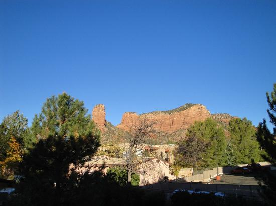 Bell Rock Inn: view from room