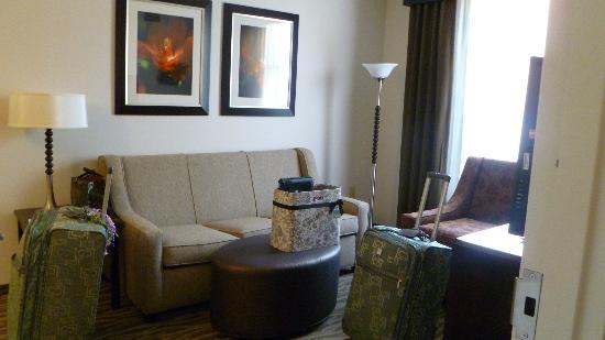 Homewood Suites by Hilton Doylestown : Living area