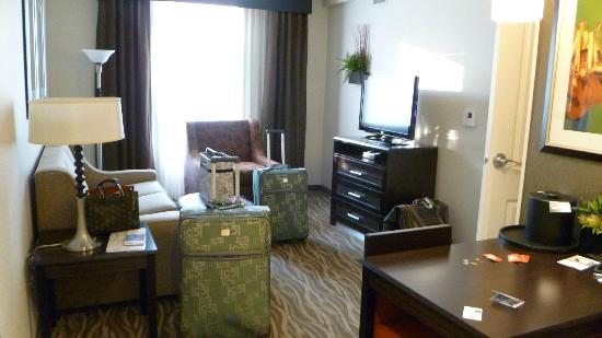 Homewood Suites by Hilton Doylestown: Living area
