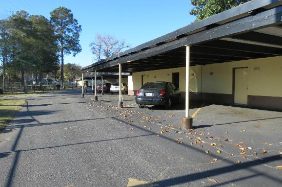 South of the Border: The carport is a plus to have