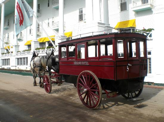 Carriage arrival at The Grand Hotel