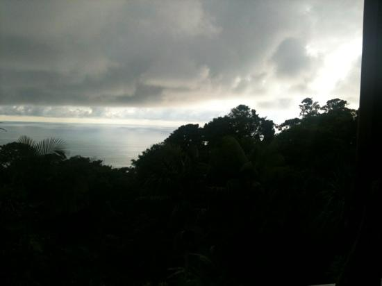 Paradise Costa Rica: view from deck