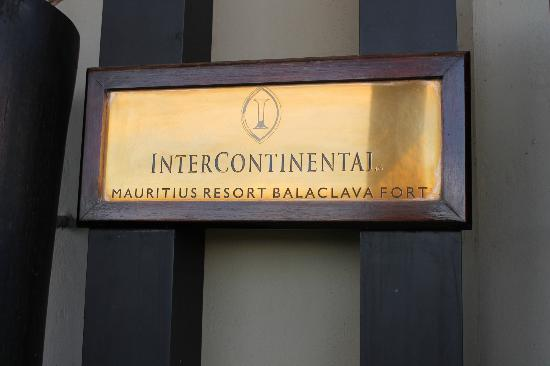 InterContinental Mauritius Resort Balaclava Fort: inter
