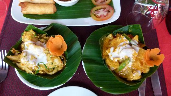 Golden Temple Hotel: Khmer food