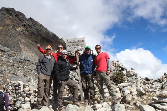 Peru Path - Day Tours: Salkantay trail to Machu Pichu May 2012