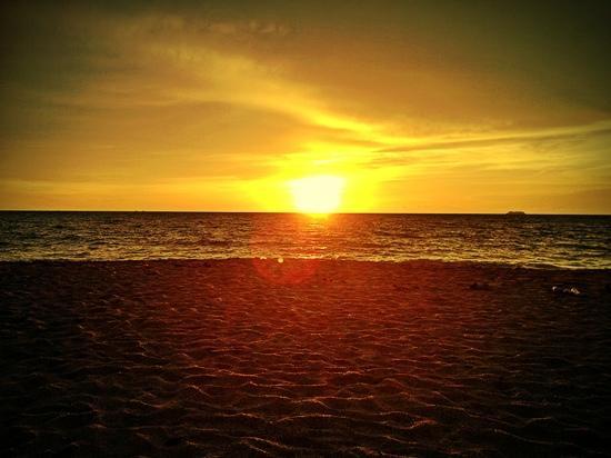 Nakara Long Beach Resort: tramonto spettacolare
