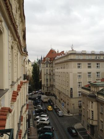 Prague City Apartments Residence Brehova: View from Apartment