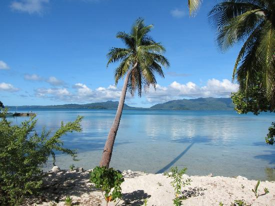 Uepi Island Resort: View from the decking