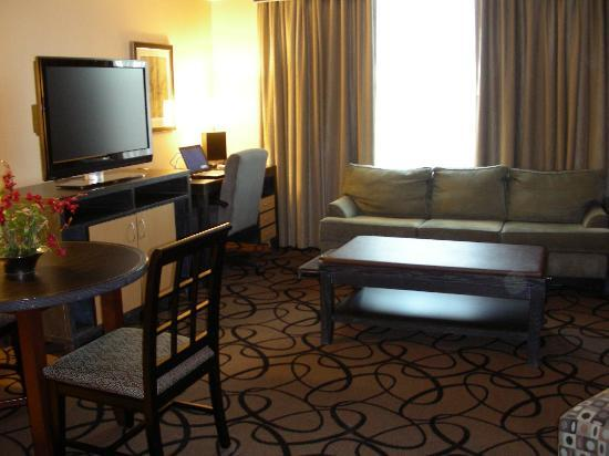 Hampton Inn & Suites Buffalo Downtown: King Suite - Living Room
