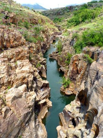 Graskop, Sydafrika: canyon blyde river 6à800m de profondeur