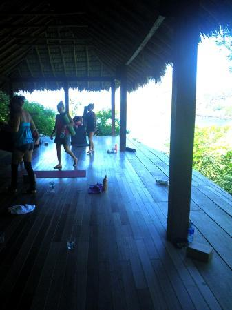 Aqua Wellness Resort: yoga deck