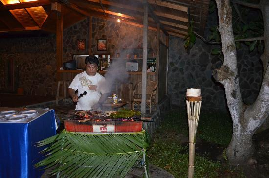 Mapia Resort: il barbecue
