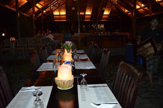Mapia Resort: la sala ristorante