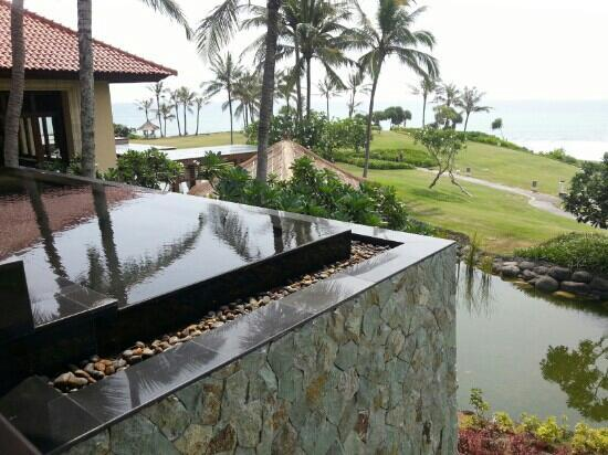 Pan Pacific Nirwana Bali Resort: view from the lobby