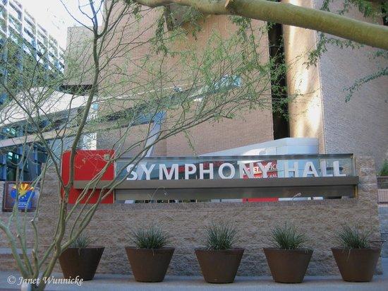 Phoenix Symphony: Symphony Hall-front