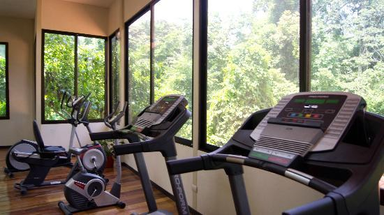 Hotel San Bada: Our Gym with views to the Manuel Antonio National Park