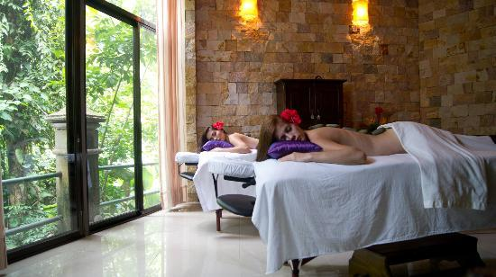 Hotel San Bada: Sana Spa, with views to the Manuel Antonio National Park