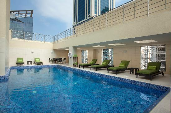 Ascott Doha Roof Top Pool