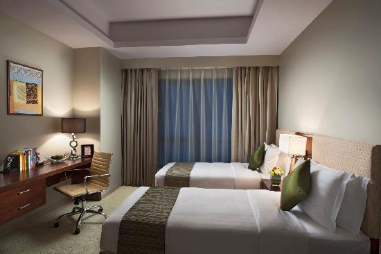 Ascott Doha Twin Bedroom