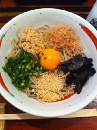 Kanai: 納豆ごまたっぷり・・ぶっかけ蕎麦