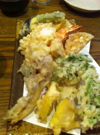 Kanai: 天ぷら盛り合わせ