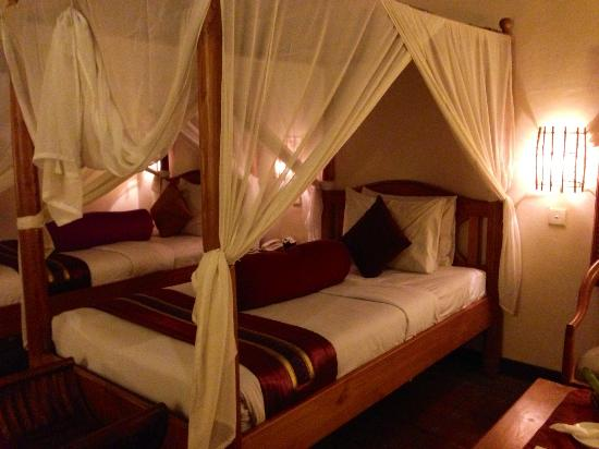 Junjungan Ubud Hotel and Spa: Deluxe bedroom